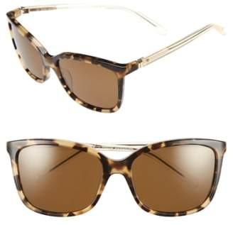 Kate Spade 'kasie' 55mm Polarized Sunglasses