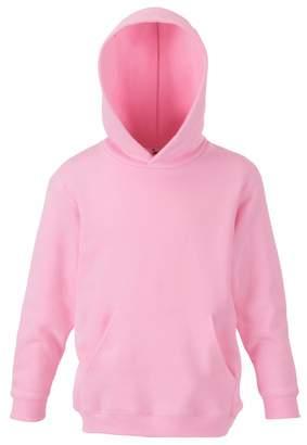 Fruit of the Loom Childrens Unisex Hooded Sweatshirt / Hoodie (7-8)