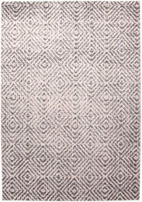 Network Lisette Neutral & Grey Durable Modern Rug