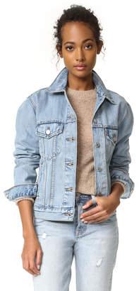 Levi's Ex-Boyfriend Trucker Jacket $90 thestylecure.com