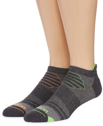Xersion 2-pk. Mens Ice Cold Low Cut Tab Socks - Extended Size