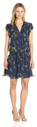 Ella Moss Women's Poetic Garden Tie Front Dress
