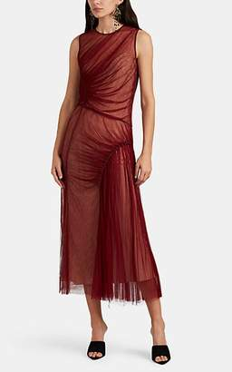 Jason Wu Women's Ruched Silk Tulle Cocktail Dress