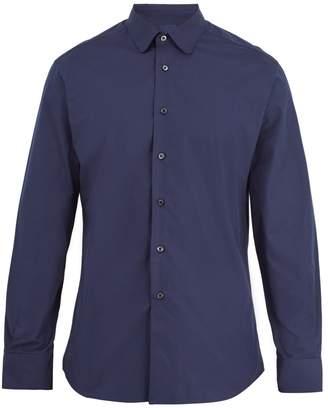 Prada Single-cuff cotton-poplin shirt