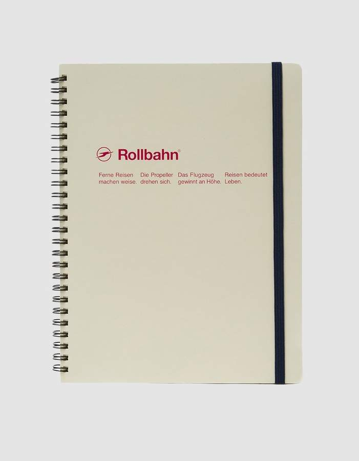 Rollbahn Spiral Notebook XLG Size