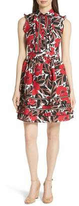 Kate Spade poppy field shirtdress