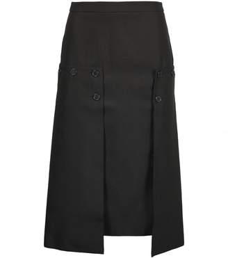 Rokh Pleated Panel Skirt