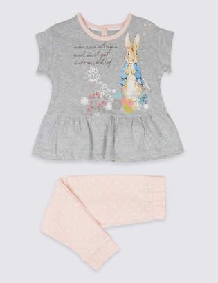 Marks and Spencer Peter RabbitTM Printed Pyjamas (1-6 Years)