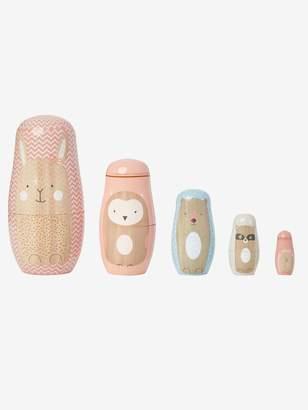 Vertbaudet Wooden Animal Nesting Dolls