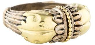 Lagos Two-Tone Arcadian Cocktail Ring