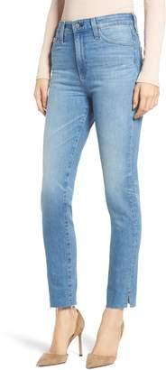 AG Jeans Sophia Raw Hem High Waist Ankle Skinny Jeans