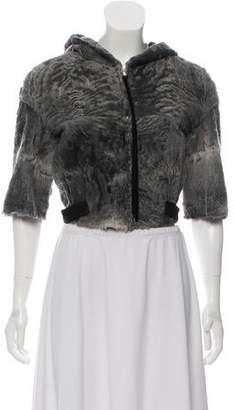 Marc Jacobs Fur Cropped Coat