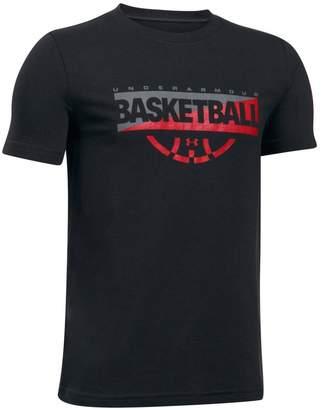 Under Armour Boys 8-20 Baseline Basketball Tee