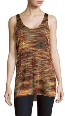 Sandro Sybel Space-Dye Tank Top