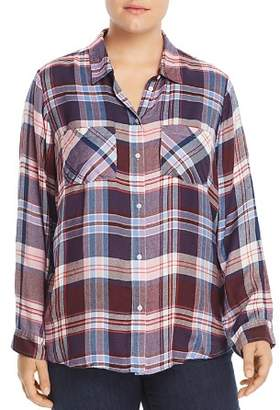 Lucky Brand Plus Plaid Shirt