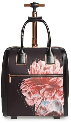 Ted Baker Tranquility Rolling Faux Leather Travel Bag