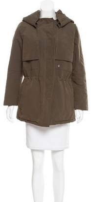 The Kooples Hooded Short Coat