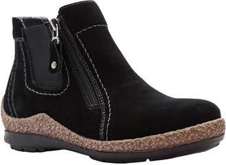 Propet Womens Doretta Bootie Flat Heel Slip-on