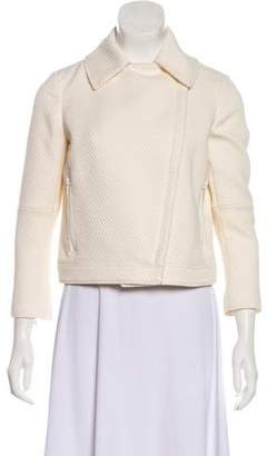 Tory Burch Textured Casual Jacket