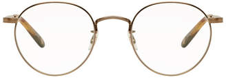 Garrett Leight Gold Wilson M 49 Glasses