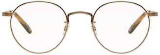 Garrett Leight Gold Wilson M 49 Glasses