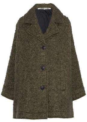 McQ Wool-Blend Bouclé Coat
