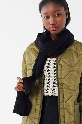Urban Outfitters Thin Ribbed Scarf