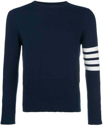Thom Browne striped sleeve jumper