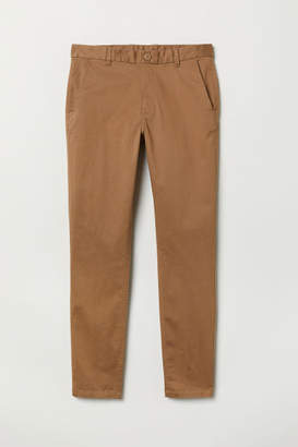 H&M Tapered Fit Chinos - Beige