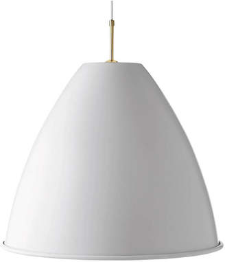 Bestlite BL9L Pendant Light - Matt White/Brass
