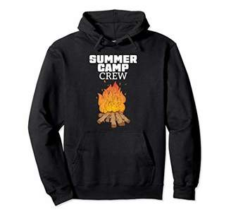 Church's Funny Summer Camp Crew Student Camping Pullover Hoodie