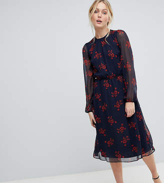 Y.A.S Tall Flow Floral Dress