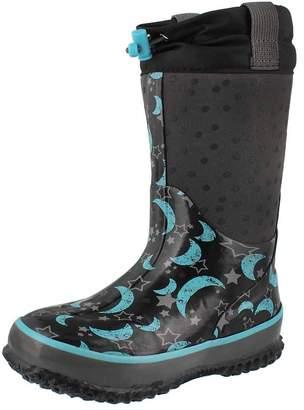 Cougar Girls' Night Sky Waterproof Pull On Winter Boot 12 M US