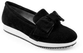 Adrienne Vittadini Garvey Suede Slip-On Sneakers