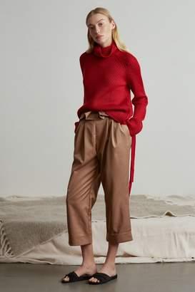 Genuine People High Waisted Tulip Pants