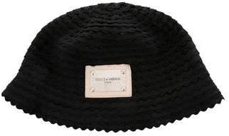 Dolce & Gabbana Grosgrain Logo Hat