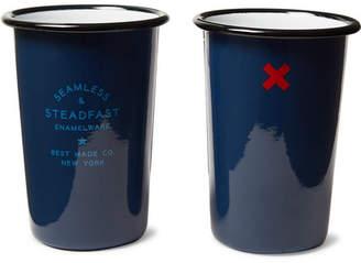 Best Made Company - Seamless & Steadfast Enamel Tumbler Set - Navy