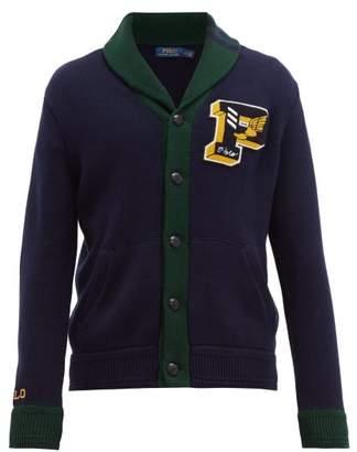 Polo Ralph Lauren Logo Applique Cotton Cardigan - Mens - Navy