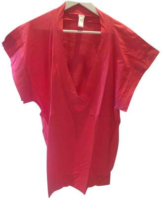 Eres Pink Cotton Top for Women