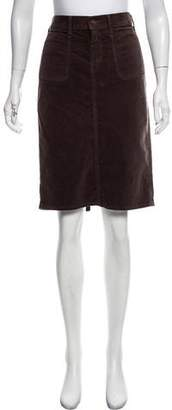 Mother Fitted Knee-Length Skirt