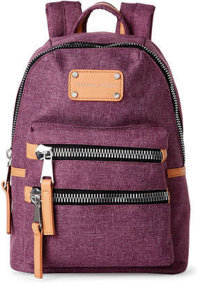 adrienne vittadini High-Density Nylon Mini Backpack $138 thestylecure.com