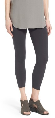 Women's Eileen Fisher Organic Cotton Crop Leggings $98 thestylecure.com