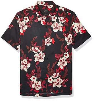 Armani Exchange A X Men's Button-Up Shirt