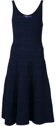 Ralph Lauren Collection scoop neck dress $2,333 thestylecure.com