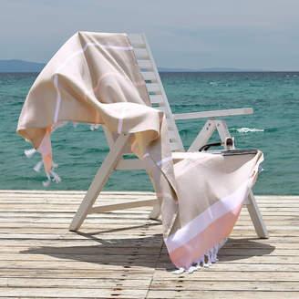 Linum Home Textiles Sea Side Fun Pestemal Beach Towel