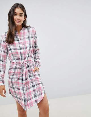 Blend She Riri Check Shirt Dress