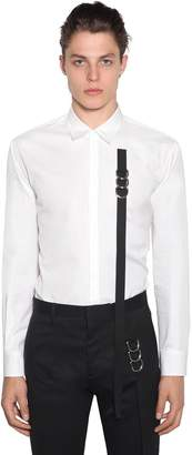 DSQUARED2 Cotton Poplin Shirt W/ Tape