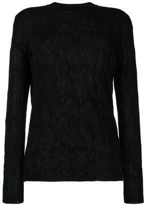 Ash round-neck print sweater