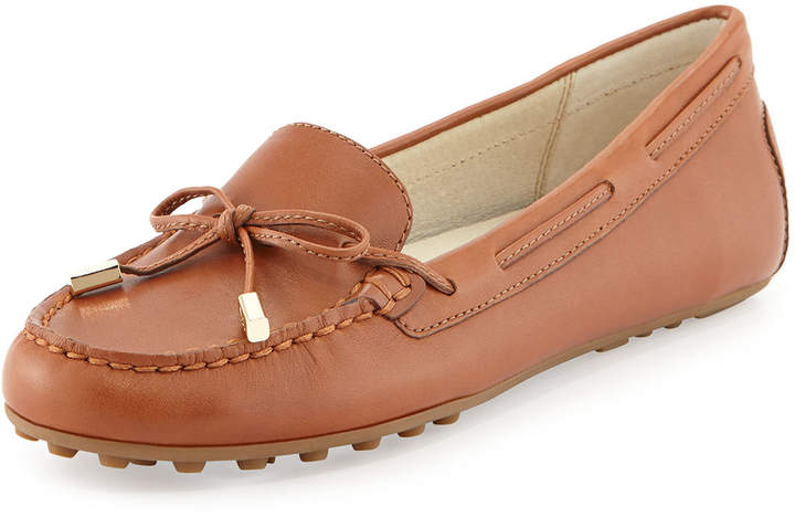 MICHAEL Michael Kors Daisy Leather Moccasin Loafer 6