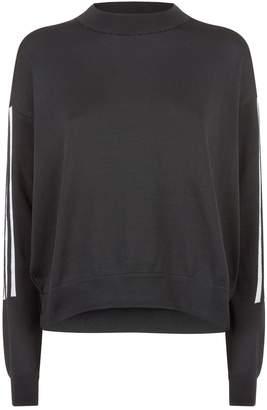 adidas Stripe Sleeve Sweatshirt
